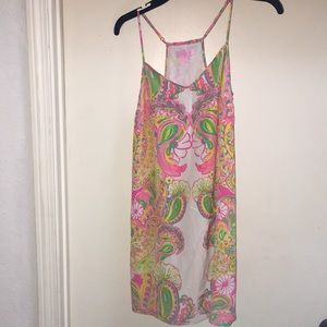 Lilly Pulitzer Double Trouble Silk Dusk Dress XS